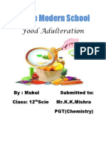 Food adultration