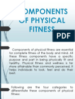 Components of Physical Fitness Reporttttt