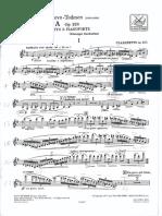 Sonata di Castelnuovo-Tedesco per clarinetto e piano