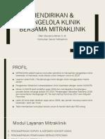 Modul Pendirian Klinik
