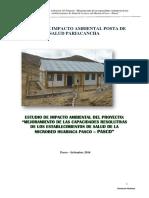 e.i.a. Posta de Salud Pariacancha
