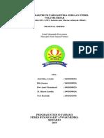Laporan Praktikum Farmasetika Sediaan Steril Volume Besar (Infus)