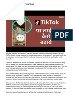 How to get free Tik Tok likes