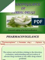 Herbal Pharmacovigilance-Anonymous