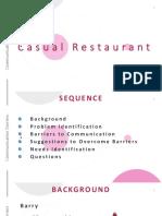 casual restaurant
