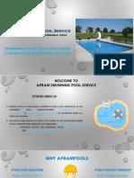 Apram Swimming Pool Service
