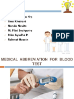 Abb for Blood Test
