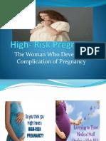 High - Risk Pregnancy