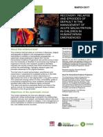 Acute Malnutrition Evidence Brief