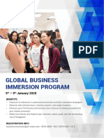 Business Immersion 2020