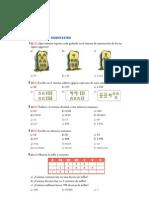 Matematicas Resueltos (Soluciones) Números Naturales 1º ESO 2ª Parte