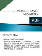 Lampiran Materi Pert 1 Evidence Based Midwifery