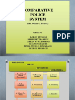 comparative police models