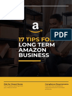 17 TIPS FOR LONG TERM AMAZON BUSINESS