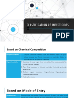 Classification of Insecticides