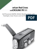 American Red Cross FR160 Manual