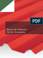 Manual de Instalación Ternium Acanalados