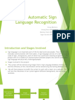 Automatic Sign Language Recognication