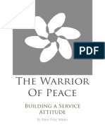 The Warrior of Peace