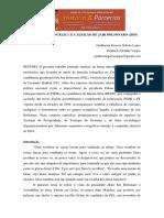 A Bancada Evangélica e a Eleição de Jair Bolsonaro (2018)