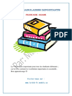 les Vocabulaire importants (Fran_ais - Arabe).pdf