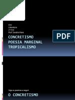 Aula - Concretismo, Tropicalismo e Poesia Marginal