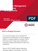 IADC Bridging Arrangements and IMO Update