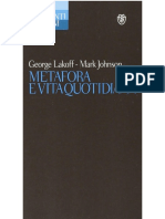 George Lakoff, Mark Johnson - Metafora e Vita Quotidiana