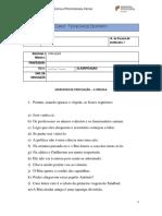 DIAGNOSTICO VIRGULA