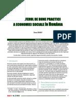 Transferul de Bune Practici a Economiei