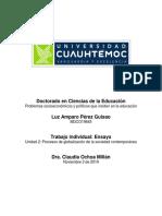 2.3 Ensayo. Impactos Positivos y Negativos de La Globalización en Colombia