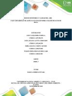Fase 5 Desarrollo de Artículo en Inglés Sobre Análisis de Datos de Rmca