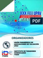 Xxx Congreso Panamericano de Valuacion Upav