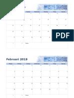 Kalender Foto Musiman Harianto