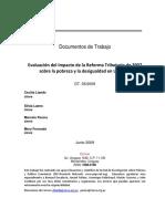 Impacto Reforma Tributaria 2007_2009