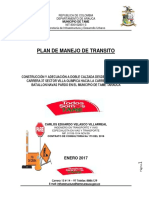 Plan de Manejo de Transito