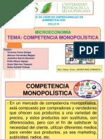 COMPETENCIA MONOPOLISITCA