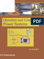 Operation and Control in Power Systems Only MCQs