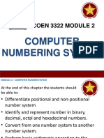 Computer Numbering System