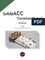 Sabacc Corellian Spike Rulebook