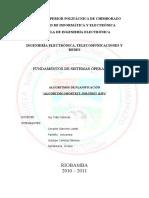 FSO - Algoritmos de Planificación - Algoritmo SJF