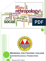 Anthropology Sherry Ann s. Marquez and Maricel m. Vinas