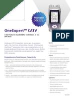 OneExpert CATV ONX630 Datasheet