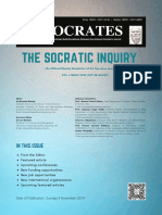 The Socratic Inquiry Newsletter Vol 1 Issue 1 (2019)