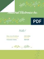 Presentasi Electronics Kel Lilis
