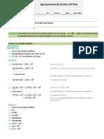 Ficha notação científica 7º ano