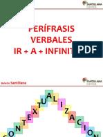 Perífrases IR + A + INFINITIVO