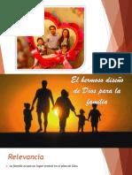 El Hermoso Disec3b1o de Dios Para La Familia