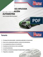 La electrónica aplicada en la reparación automotriz