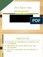 3.- La Monografía (1)